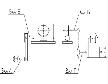Схема ленточного конвейера с червячным редуктором транспортер т5 шаровая опора
