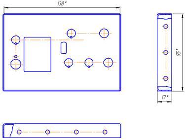 Промышленность производство Изготовление передней панели пульта  Промышленность производство Изготовление передней панели пульта дистанционного управления Курсовая работа