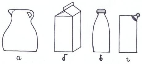 Маркетинг Роль упаковки для молокопродукции Курсовая работа  Виды упаковки молока