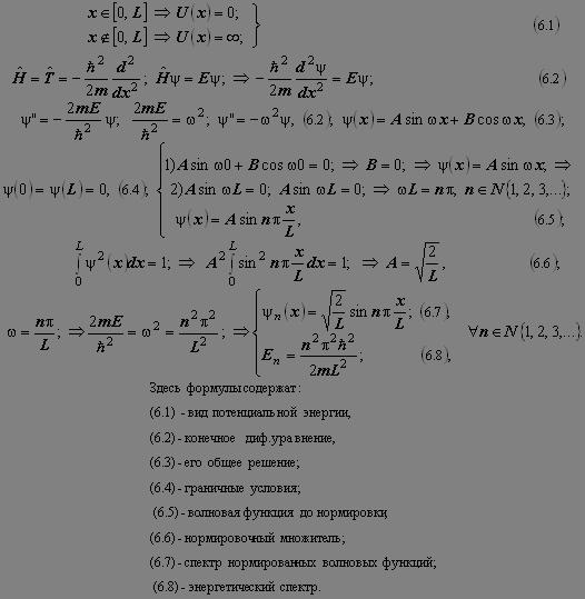 Физика Уравнение Шрёдингера для простейших стационарных движений  Имеются и иные важные её приложения