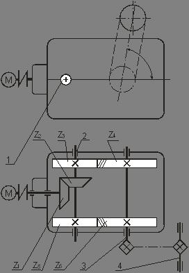 Промышленность производство Энергетический и кинематический  Промышленность производство Энергетический и кинематический расчеты редуктора привода транспортера Курсовая работа