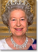 Official portrait of the Queen