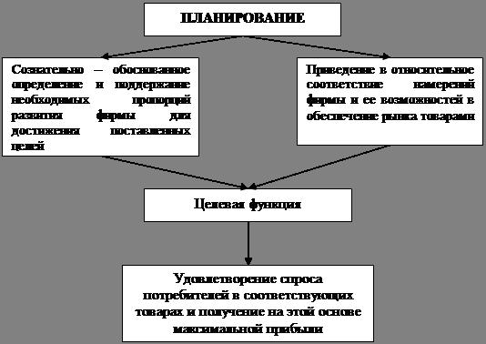 Экономика Анализ годового плана экономического развития  Рисунок 1 планирование в системе предпринимательства