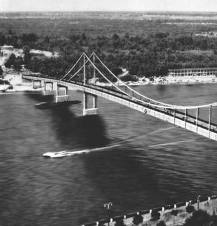 Строительство Висячие мосты Реферат Учил Нет  Висячие системы применяют главным образом для автодорожных и городских мостов рис 1 Крупнейший висячий мост сооружённый в 1965 при входе в нью йоркскую
