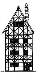 Причілок житлового будинку. Реконструкція автора.